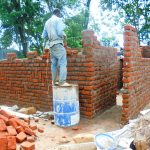 The Water Project: Essaba Secondary School -  Latrine Construction