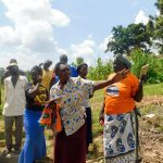 The Water Project: Ulagai Community, Rose Obare Spring -  Spring Management And Maintenance Training