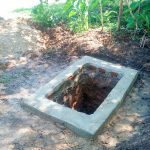 The Water Project: Nambatsa Community -  Pit For The Sanitation Platform