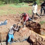 The Water Project: Lwangele Community, Machayo Spring -  Excavation