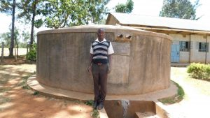 The Water Project:  Geoffrey Anai