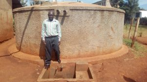 The Water Project:  John Temba