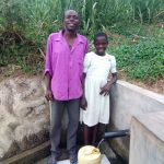 The Water Project: Mwinaya Community -  Bonface Waswa And Sylvia Were