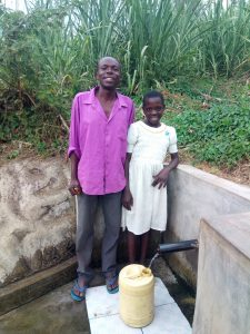 The Water Project:  Bonface Waswa And Sylvia Were