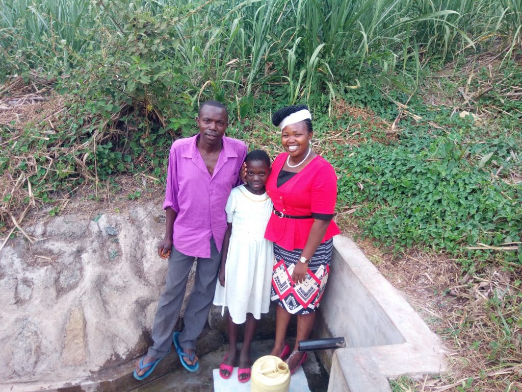 The Water Project : kenya4697-water-flowing