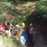 The Water Project: Shiamala Community -  Gathering Water