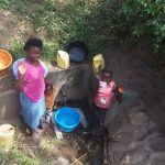 The Water Project: Shiamala Community -  Rose Achina With Lavine Khalachi
