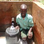 The Water Project: Kidinye Community A -  Eugene Ngatha