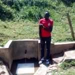 The Water Project: Bumavi Community, Shoso Mwoga Spring -  Patrick Masambaga
