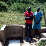 The Water Project: Bumavi Community, Shoso Mwoga Spring -  Patrick Masambaga And Faith Khasoa