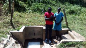 The Water Project:  Patrick Masambaga And Faith Khasoa