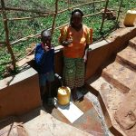 The Water Project: Mutambi Community -  Erick Mwalunga And Florence Chelegat