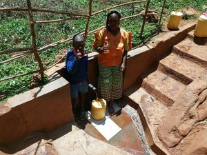 The Water Project:  Erick Mwalunga And Florence Chelegat