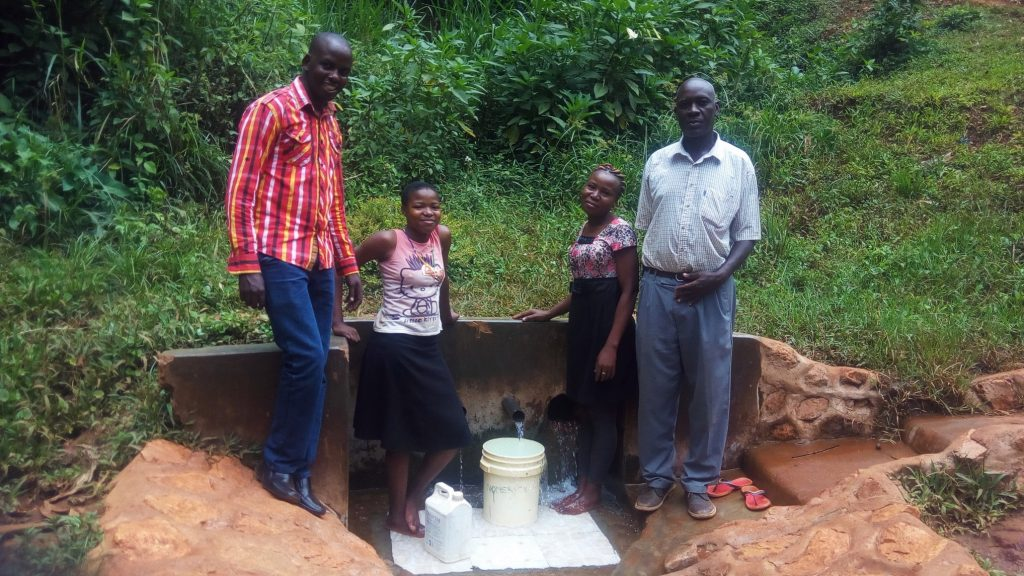 The Water Project : kenya4708-reliable-water