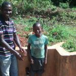 The Water Project: Eluhobe Community -  Jazron Amakobe And Michael Omuchina