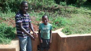 The Water Project:  Jazron Amakobe And Michael Omuchina