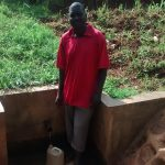 The Water Project: Nyira Community, Ondiek Spring -  Oliver Ondiek