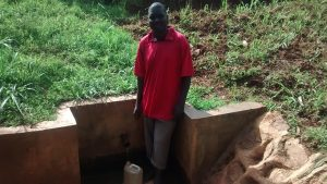 The Water Project:  Oliver Ondiek