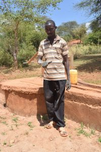 The Water Project:  Francis Nzioki