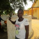 The Water Project: Tintafor, Officer's Quarters Community -  Alimatu Kargbo