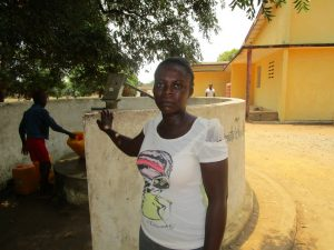 The Water Project:  Alimatu Kargbo