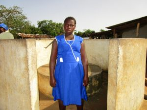 The Water Project:  Sinah Sesay