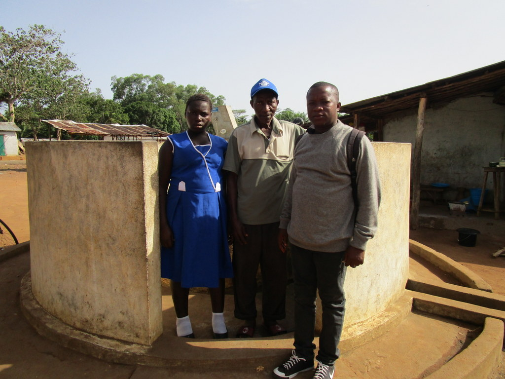 The Water Project : sierraleone5104-standing-at-well