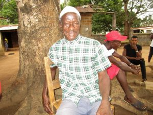 The Water Project:  Mr Girbril Koroma
