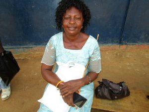 The Water Project:  Headteacher Ann Marie A Kamara