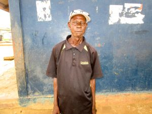 The Water Project:  Mr Joseph Solomon Koroma