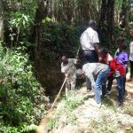 The Water Project: Shitirira Community, Peninah Spring -  Unprotected Spring