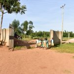 The Water Project: Eshikufu Primary School -  School Entrance