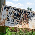 The Water Project: Ikoli Primary School -  School Sign