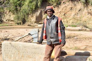 The Water Project:  Amos Matheka