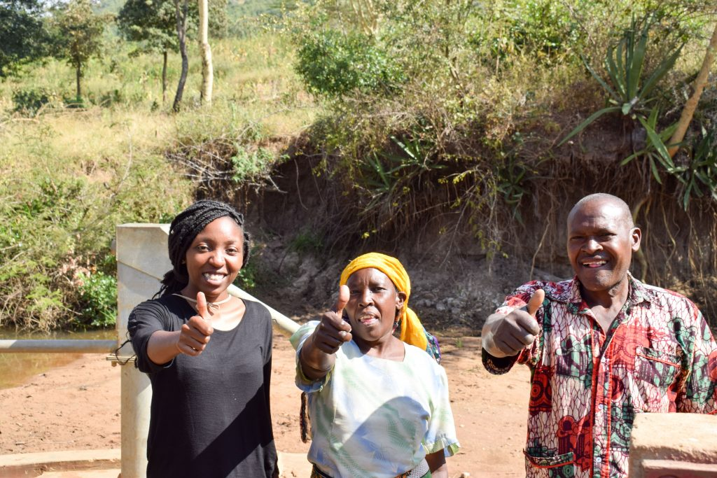 The Water Project : 1-kenya4774-a-year-with-water