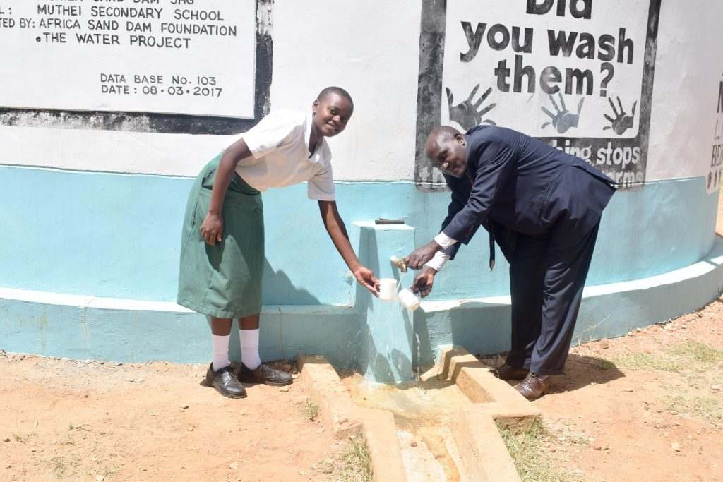 The Water Project : 1-kenya4803-a-year-with-water