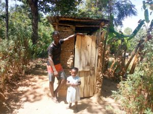 The Water Project:  A Household That Has A Latrine