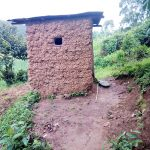 The Water Project: Bukhanga Community, Indangasi Spring -  Mud Latrine