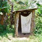 The Water Project: Mungakha Community, Asena Spring -  Latrine
