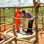 The Water Project: Pakanyi Gwoki Community -  Casing Installation
