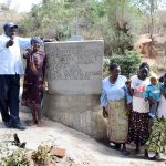 Mbau Community Hand-Dug Well Complete