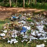 The Water Project: Eshikufu Primary School -  Garbage