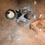 The Water Project: Mungakha Community, Nyanje Spring -  Where Food Is Cooked