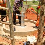 The Water Project: Pakanyi Gwoki Community -  Pump Installation