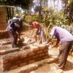 The Water Project: Shitsava Primary School -  Latrine Construction