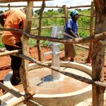 The Water Project: Pakanyi Gwoki Community -  Water Flowing