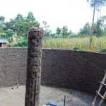 The Water Project: Emukangu Primary School, Shibuli -  Tank Construction