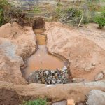 The Water Project: Ilandi Community -  The Trench