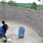The Water Project: Ndaluni Primary School -  Tank Construction