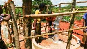 The Water Project:  Using The Water Point